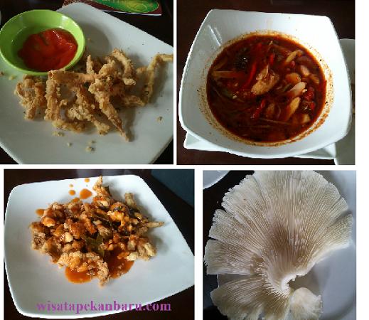 menu jamur