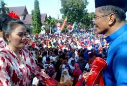 Tari Melayu Massal Menjadi Rekor Baru Dunia