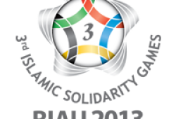 3rd Islamic Solidarity Games Logo in Indonesia