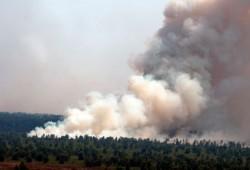 Waspada Kabut Asap Lagi, Lanud Roesmin Nurjadin Siagakan Empat Heli