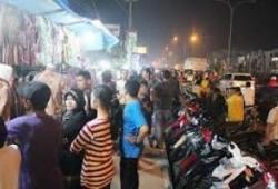 Pedagang Pasar Senggol Giant Terima Bantuan Hibah