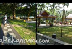 Suasana Asri di Taman Kota Pekanbaru