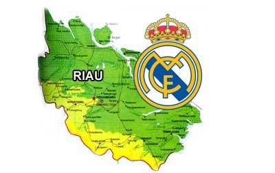KLUB REAL MADRID AKAN BUKA SEKOLAH SEPAKBOLA DI RIAU