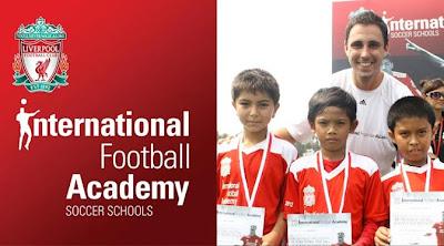 Giliran Liverpool Buka Sekolah Sepakbola di Pekanbaru
