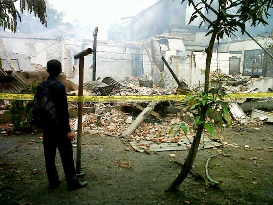 Rumah Mewah Pejabat Terbakar, Rp 300 Juta Hangus